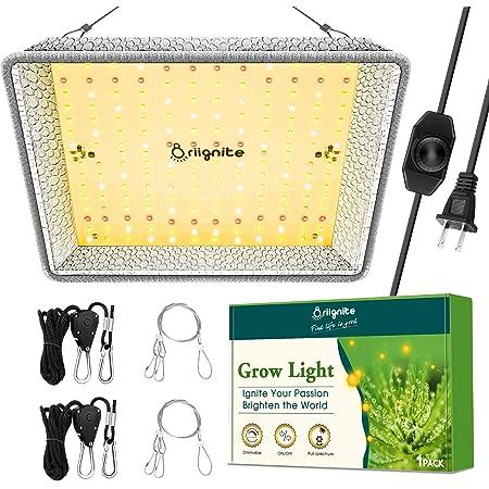 LED Grow Lights, Briignite Grow Light, BR 600W LED Grow Light, Full Spectrum LED Grow Light, 2x2ft Coverage Plant Grow Light, Dimmable Grow Light for Indoor Plants, Seedling Veg and Bloom Greenhouse