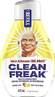 Mr. Clean, Deep Cleaning Mist Multi-Surface Spray, Lemon Zest Scent Refill, 1 Count, 16 Fl Ounce