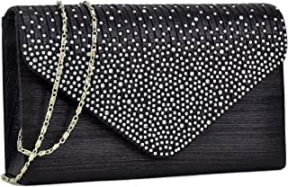 Women Evening Envelope Handbag Party Prom Clutch Purse Shoulder Cross Body Bag