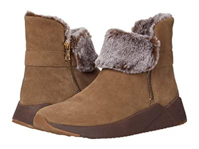 Vaneli Abril (Taupe Nival/Brown/Taupe Faux Fur) Women