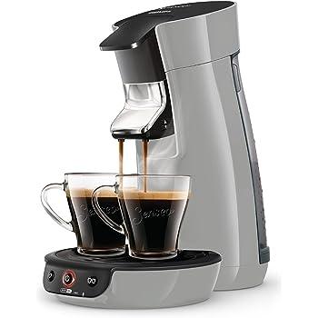 Senseo Viva Café HD6561/51 - Cafetera (Independiente, Máquina de café en cápsulas, 0,9 L, Dosis de café, 1450 W, Plata): Amazon.es: Hogar