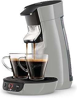 Senseo Viva Café HD6561/51 - Cafetera (Independiente, Máquina de café en cápsulas, 0,9 L, Dosis de café, 1450 W, Plata)