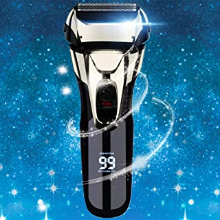 Vifycim Electric Razor for Men, Mens Electric Shaver, Dry Wet Waterproof Man Foil shaver, Facial Cordless Shaver Travel Us...