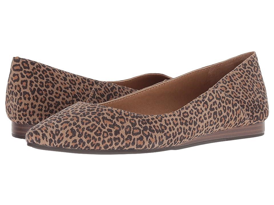 Lucky Brand Bylando (Eyelash Sophia Leopard Suede Leather) Women