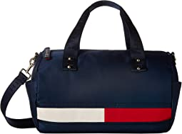 Nori Flag Convertible Nylon Duffel