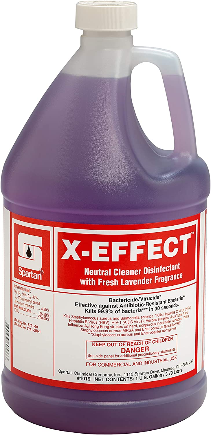X-Effect Cash special price Neutral Cleaner Disinfectant Fresh Lavender Gallon 1 Trust