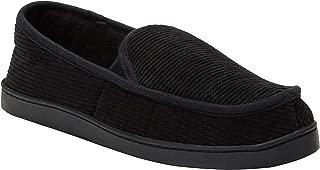 Men's Big & Tall Cotton Corduroy Slippers