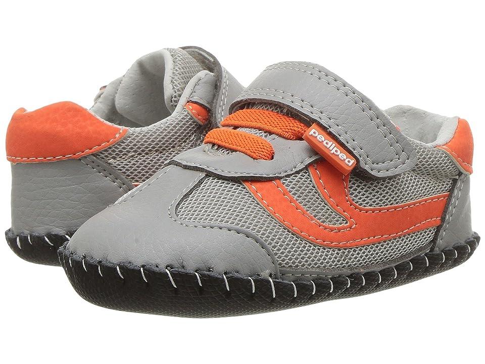 pediped Cliff Originals (Infant) (Grey/Orange) Boy