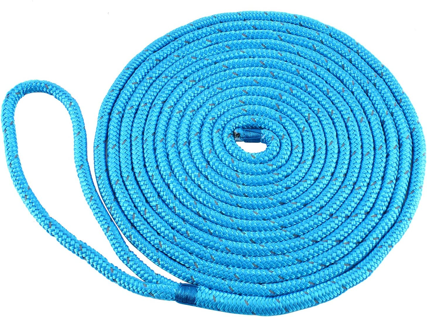 Amarine Made Reflective Double Braided Lines Dock lbs 70% Free shipping / New OFF Outlet Nylon 3300