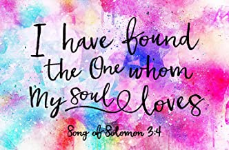DIY 5D Diamond Painting Kits for by Number Adults Full Drill I Have Found The One Whom My Soul Loves Song of Solomon 3:4