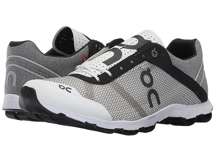 On Cloudrush (Black/White) Men's Shoes