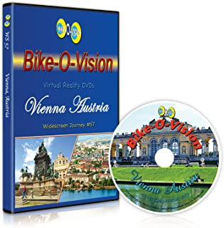 Bike-O-Vision - Vienna, Austria - Virtual Cycling Adventure - Perfect for Indoor Cycling and Treadmill Workouts - Cardio Fitness Scenery Video