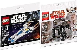 Lego Star Wars First Order Heavy Assault Walker Last Jedi & U-Wing Fighter Rogue One set - Polybag edition Building Set