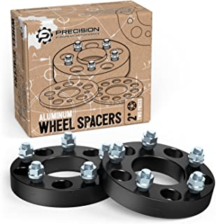 StanceMagic - 1 inch Wheel Spacers 5x114.3 to 5x100 Adapters (Changes Bolt Pattern) 73.1mm Bore, 12x1.5 Studs Nuts - 5x4.5 to 5x100, 25mm, Black, 2pcs