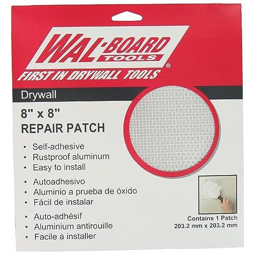 "Walboard Tool 54-007 8"" X 8"" Drywall Repair Patch"