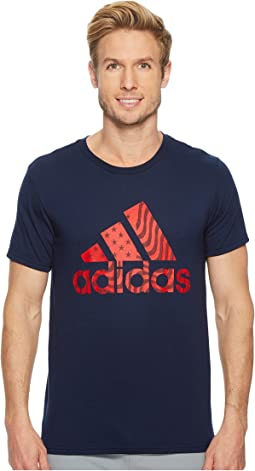 adidas Badge of Sport American Tee