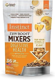 Instinct 6170109 Freeze-Dried Raw Boost Mixers Grain-Free Digestive Health Recipe Cat Food Topper, 5.5oz