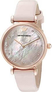 Emporio Armani Woman's Watch - mother of pearl MOP dial