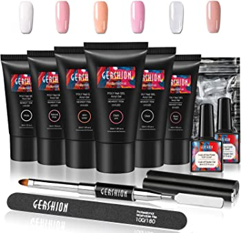 Gershion Poly Nail Gel Kit 30m for Starters
