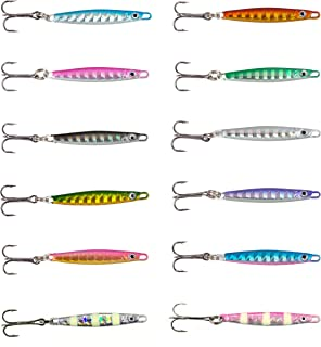 オルルド釣具 小型 メタルジグ チョビルドA 12カラー 12個セット qb100129