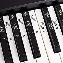 BELFORT Klavier + Keyboard Noten-Aufkleber für 49 | 61 | 76