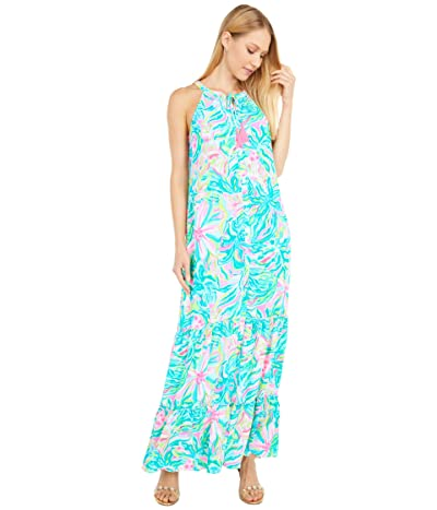 Lilly Pulitzer Luliana Maxi Dress (Multi One In A Melon) Women