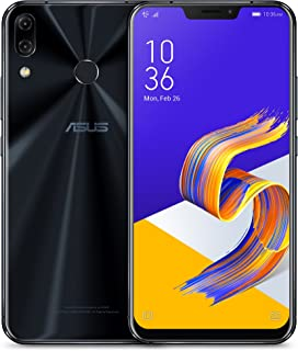 "ASUS ZenFone 5Z (ZS620KL-S845-6G64G) - 6.2"" FHD+ 2160x1080 display - 6GB RAM - 64GB storage - LTE Unlocked Dual SIM Cell Phone - US Warranty - Midnight Blue"
