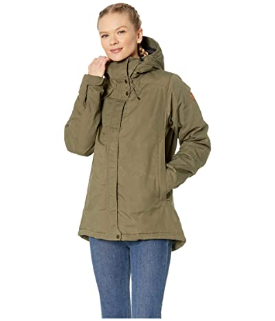Fjallraven Skogso Padded Jacket (Laurel Green) Women