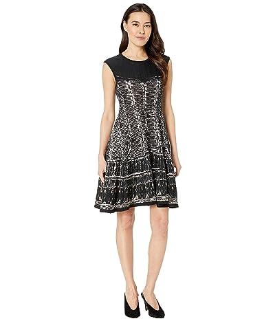NIC+ZOE Petite Garden Party Dress (Multi) Women