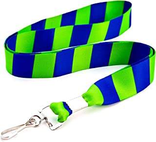 Cute Lanyard, Ultra Soft Quality Construction Non-Breakaway Stylish- Cool Lanyards for Women, Men, Keys- Perfect for Conventions Conferences Trade Shows Schools Work-Key chain and more!