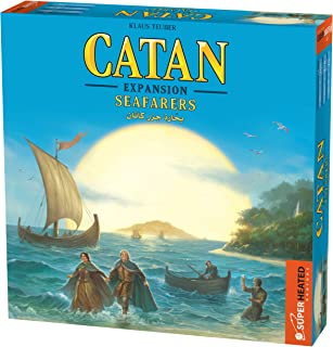 Catan Seafarers | 3-4 Players | Official Version | English and Arabic Language | Family Game For Ages 10+ | Board Game - S...