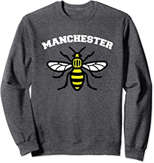 Manchester of England Honey Producing Bee worker Symbol Gift Sweatshirt