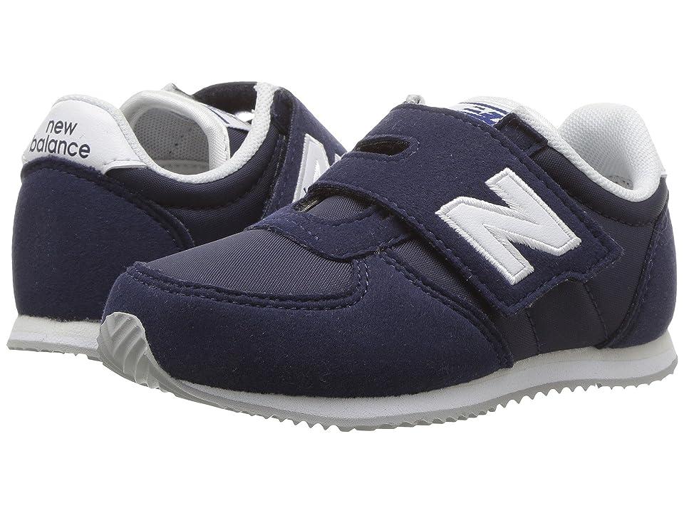 New Balance Kids KV220v1 (Infant/Toddler) (Navy/White) Boys Shoes