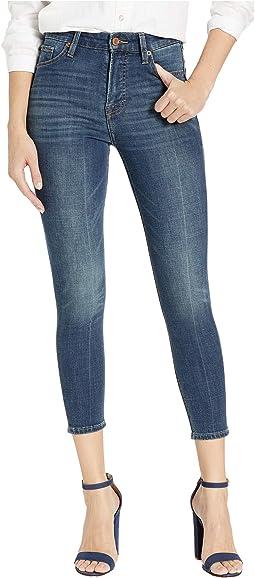 Bridgette High-Rise Crop Jeans in Folly Brook