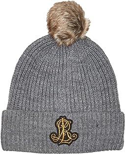 Rib Logo Patch Hat
