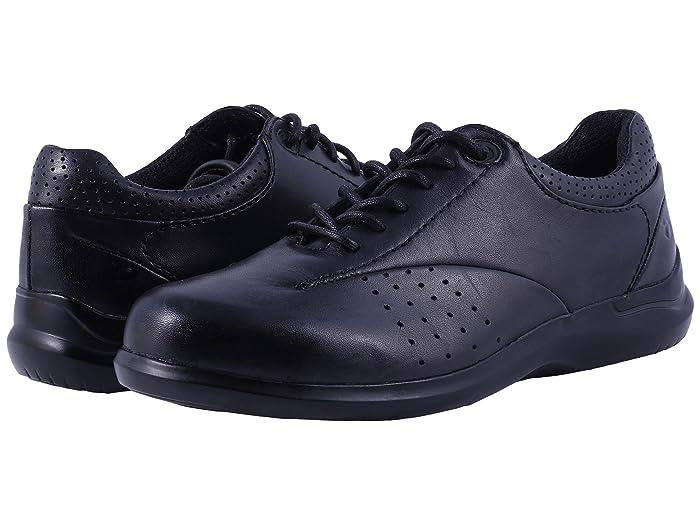 Aravon  Farren (Black Leather) Womens Lace up casual Shoes