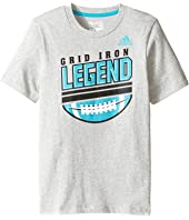 adidas Kids - Legend Tee (Toddler/Little Kids)