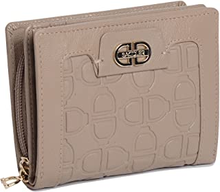SADDLER Womens Real Leather Multi Credit Card Purse Wallet with Zipper Coin Purse  Designer Ladies Flap Purse - Perfect fo...