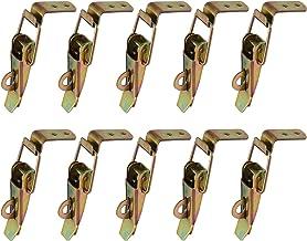 Gurxi 10 Stuks Eend Gefactureerde Gespen Vang Klem Spanning Lock Rvs Lente Geladen Toggle Vangst Sluiten voor Case Box Too...