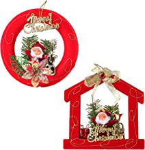 SumacLife 000000630 Santa Clause Christmas Ornament Bundle Set, 2 Piece