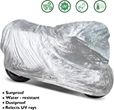 OxGord Solar-Tech Reflective Motorcycle Cover - 100% Sun-Proof - Ready-Fit/Semi Custom - Fits up to 111