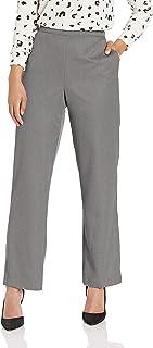 Alfred Dunner womens full back elastic medium length pant Pants