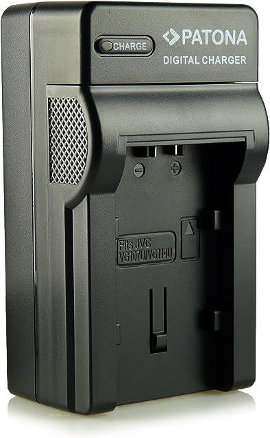 PATONA Cargador Para La Baterías BN-VG107 BN-VG108E BN-VG114 BN-VG121 BN-VG138