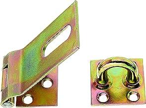 GAH-Alberts 348359 veiligheidssluiting, elektrolytisch geel verzinkt, lengte sluiting 85 mm, breedte 37 mm