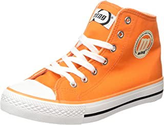 Mustang 13992 Fashion Sneakers For Men, Orange, 37 EU