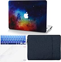 """KECC Laptop Case for MacBook Air 13"""" w/Keyboard Cover + Sleeve + Screen Protector (4 in 1 Bundle) Plastic Hard Shell Case ..."""