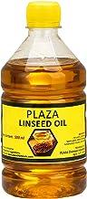 زيت بذر الكتان النقي - عبوة 500 مل (زيت الخفاش) من بلازا، يستخدم في تلميع الخشب وتقوية الخشب، يستخدم لمضارب الكريكيت، يمكن...