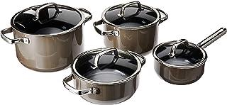 WMF Fusiontec 4Pc Cookware Set Dark Brass, Brown, 1kg