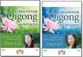 Bundle: Radiant Lotus Qigong 2-DVD Set / Beginner Qigong for Women by Daisy Lee (YMAA)