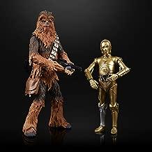 Star Wars The Black Series Chewbacca & C-3PO Toys 6